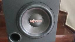 Caixa Dutada Subwoofer Nitro 12 700w Rms