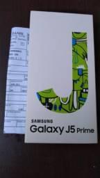 J5 prime lacrado 32 GB leitor biométrico
