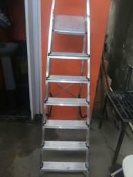 Escada top de 7 degraus promoção do dia de alumínio