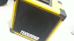 Caixa Contra Baixo Teksound p/ vender Logo (ACEITO CARTÃO)