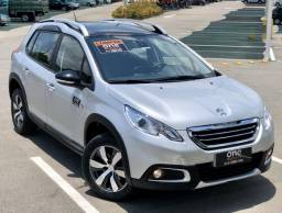 2018/19 SUV Peugeot 2008 Crossway Teto Panorâmico Automático 1.6 Garantia Fábrica Set/21 - 2019
