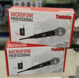 Microfone Sem Fio Profissional Mt 1002
