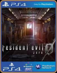 Ps4 resident evil 0 zero