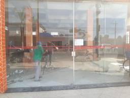 Vendo vidros de fachada e porta de blindex