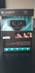 Webcam Usb Hd 1080P C920 - Logitech - Nova