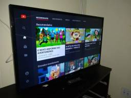 "Tv smart 3d 42"" lg com wi-fi e youtube e netiflix"