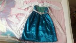Vendo vestido da frozen tamanho 6