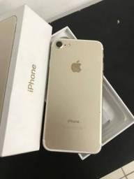 Iphone 7 128gb gold novo lacrado