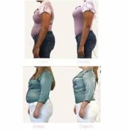 Calcinha alta modeladora de cintura