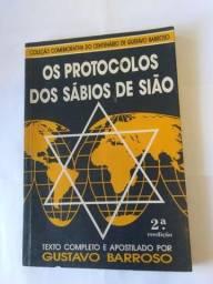 """Livro """" Os protocolos dos sábios de Sião"""" ? Edição raríssima - 1989"""