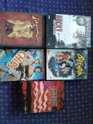 Séries Originais em Dvd (valores abaixo)