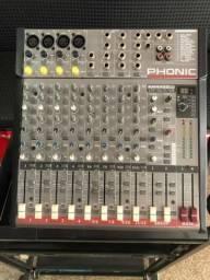 Mesa de Som Phonic AM 442 D