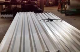 Telha galvanizada - Zincada zinco 0.43 - a melhor direto da fabrica - mais barata