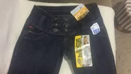 02 Calças Jeans Sawary - NOVA