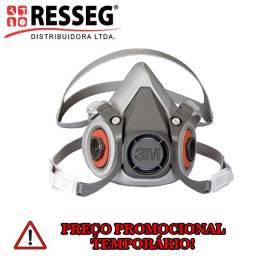 Respirador Semifacial 3M 6200 Tamanho M