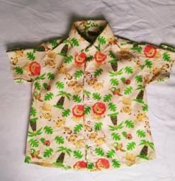 Camisa tema Safari