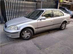 Honda Civic 1.6 lx 16v gasolina 4p automático - 1999