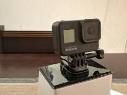 Câmera Gopro Hero 8 Black + Cartão Extreme Pro 64gb + 54 Acessórios + 1 Bateria Original