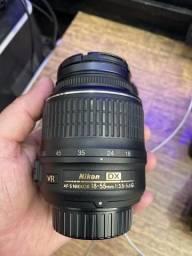 Câmera Nikon d60 completa nova 2 lentes