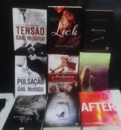 Vendo livros de romance