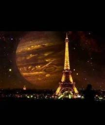 Quadro de decoração torre Eiffel Paris comprar usado  João Pessoa