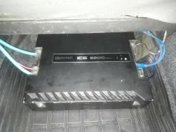 Usado, Som automotivo: caixa sub Nitro 15 e módulo Banda Ice 2500 comprar usado  São Paulo