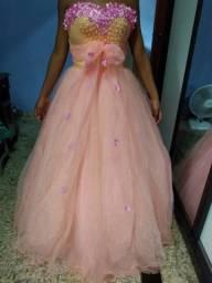 Vestido debutante tamanho M.