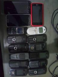Lote 15 celulares ( Peças )