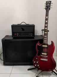 Guitarra canhota Vintage Vs6