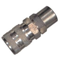 Engate Rápido Com Esfera Rosca Fêmea M16 Npt Lubefer Lub2020