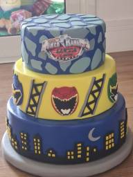 Vendo bolo fake de Biscuit Power Ranger.