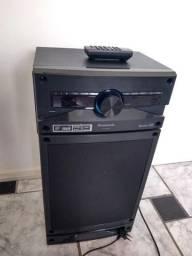Caixa de som bluetooth 250w Panasonic