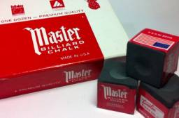 Giz Master Preto Original Pronta Entrega Caixa ou unidade - p/ Taco sinuca