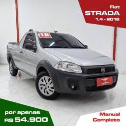 Título do anúncio: Strada 1.4 Hard working ce 8 V Flex 2 P 2018