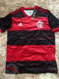Queima de Estoque Camisa Flamengo 1 2020 Personalize Grátis!