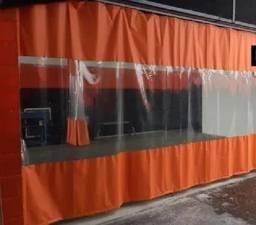 Título do anúncio: Cortina Lona Pvc / Cabine De Pintura E Oficinas Automotivas