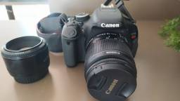 Título do anúncio: Vendo câmera Canon ti3