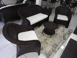 Título do anúncio: Conjunto de sofá Joinville em fibra sintética