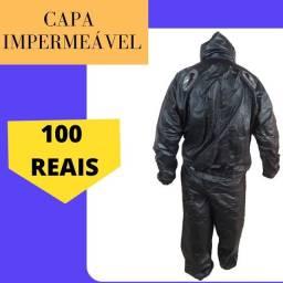 Título do anúncio: Capa de chuva para motoboy, flexibilidade e de excelente material por apenas 100$