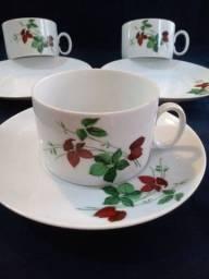 Título do anúncio: Xícaras para chá porcelana Renner