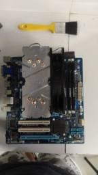 Título do anúncio: Kit I7 3770 com placa mãe gigabyte + 16gb de ram
