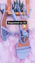 Título do anúncio: Sandálias de luxo