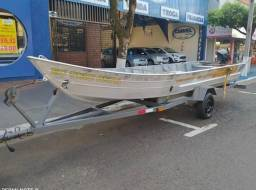 Título do anúncio: Barco,Carreta e Motor