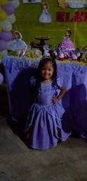 Título do anúncio: Vendo vestido da princesa Sofia