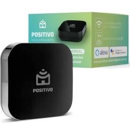Smart controle da Positivo, Wi-Fi, infravermelho compatível com Alexa