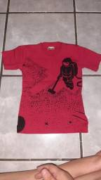 Título do anúncio: Lote 4 Camisas novas tamanho 2 50.00