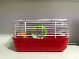 Título do anúncio: Gaiola hamster e ração para roedores