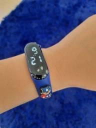 Relógio de Led Infantil