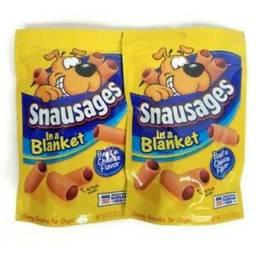 Snausages Petisco - Importado Cães Filhotes / Adultos - 128g
