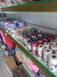 Barbante Jk cru e colorido: Tamanhos de 100g, 200g ou 700g a partir de R$ 3,90